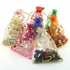 100pcs -500pcs Organza Bags Wedding Party Candy Favor Gift Jewellery Pouch Decor