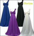 Cherlone Chiffon Long Maternity Ballgown Wedding/Evening Formal Bridesmaid Dress