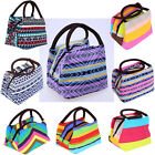 Insulated Thermal Cooler Portable Picnic Bento Lunch Box Carry Tote Storage Bag
