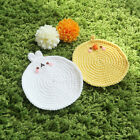 Molang Hand Knitted Drink Coaster Tea Coffee Cup Mat Pad Kitchen Table Decor