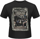 HOLLYWOOD UNDEAD Cement Band Photo T-SHIRT OFFICIAL MERCHANDISE