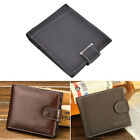 New Fashion Men's Faux Leather Purse ID/Credit Card Holder Wallet Bifold LAUS