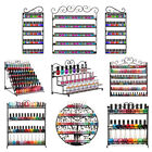 Big Nail Polish Wall Mount Rack stand Metal Organizer Display up to 180+ Bottles