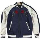 Deus Ex Machina Reversible Souvenier Jacket Black Navy