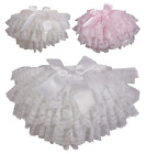 Baby frilly bow knickers lace nappy cover Spanish pants girl