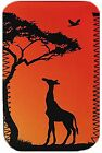 "Sunset Giraffe Cover, Case, Pouch fits Kindle Fire 7 or Fire HD 8 8"" Tablet"