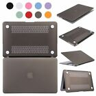 """Hard Rubberized Cover Shell Case for Macbook Air/Pro 11"""" 13"""" 15"""" Shell & Sleeve"""