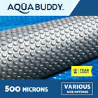Solar Swimming Pool Cover 500 Micron Outdoor Bubble Blanket 5 SIZES 3 YR WRTY
