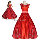 US SHIP! Elena Princess Dress Adult Ball Gown Prom Dress Costume Cosplay