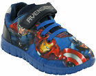 Marvel Avengers Trainers Boys Soft Touch Fasten Lightweight Official Shoes