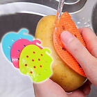 New Fruit Vegetable Cleaning Brush Potato Carrot Anti Slip Cleaner Tool Pad 1Pc