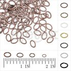 30g Wholesale Oval Open Jump Rings Split Jewelry Findings Making Connectors