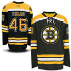 David Krejci Boston Bruins Reebok Mens Home Premier Jersey Black NHL