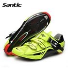 Santic Road Cycling Shoes Carbon Fiber Sole Self-locking Athletics Bicycle Shoes