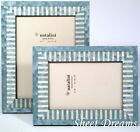 Natalini Blue Hand Made in Italy Marquetry Photo Frame 4x6 5x7 Picture New