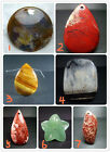 Fashion Beautiful Natural Gemstone Pendant Bead 1pcs