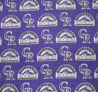 Colorado Rockies Dog Bandana MLB Dog over the collar / New design