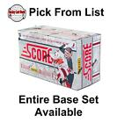 (HCW) 2011-12 Panini Score Glossy 1-250 NHL Hockey Cards - You Pick From List $0.76 USD on eBay