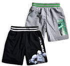 Boys Star Wars Shorts New Kids Casual Summer Short Yoda Stormtrooper 4 - 10 Yrs