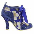 Irregular Choice Abigails Third Party Womens Black Blue Ankle Boots  Size UK 4-8