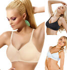 Soft Cup Big Breast Full Coverage Minimizer Bra Removable Pads