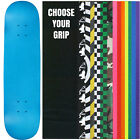 """Skateboard Deck Pro 7-Ply Canadian Maple NEON BLUE With Griptape 7.5"""" - 8.5"""""""