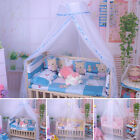 New Round Dome Infant Bed Mosquito Mesh Curtain Net for Toddler Crib Cot Canopy