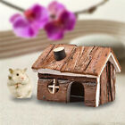 Wooden House Villa Cage Playground Exercise Toys For Hamster Mouse Rat Hedgehog