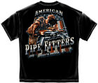 Erazor Bits T-Shirt American Pipe Fitter Black