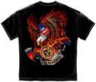 Patriotic Fire Eagle American Made Firefighter T-Shirts for Men or Women