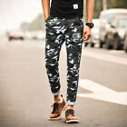 Fashion Men Camouflage Pants Cargo Style Harem Trousers Sports Fitness Jogging