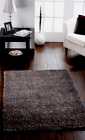 ORIGINS CHICAGO sparkle twist SHAGGY rug CHARCOAL GREY 6 SIZES MORE COLOURS NEW
