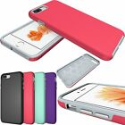 Hybrid Shockproof Slim Hard Armor New Case Cover For iPhone 5S 6 6S Plus/ 7 Plus
