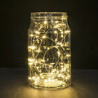 1M/2M LED Starry String Lights Fairy Micro 20 LEDs Copper Wire Battery Powered