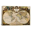 iCanvas Mappe Monde Nouvelle by Ginger Canvas Print - ICA1369-1PC6-60x40