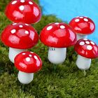 Miniature Mushroom Bonsai Craft Garden Ornament For Plant Pots Fairy Garden TINW