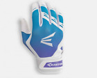 Easton HF7 Hyperskin Fastpitch Women's Batting Gloves NEW White/Blue/Purple