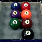 """Regular  2-1/4""""  Pool Cue Billiards Ball , No.2 to No.8 for Option - New"""