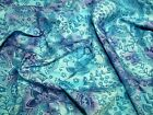 Floral Print Batik Cotton Dress Fabric (JL-36001-M)