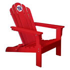 Choose Your Nfl Team Composite Wood Folding Adirondack Deck Chair By Imperial