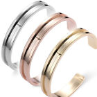 New 1 Piece Women's Alloy Gold High Quality Opening Bangle Bracelet Party