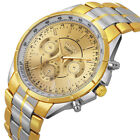 Big Face Luxury Men Hours Stainless Steel Analog Sports Fashion Wristwatch NG18