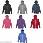 AWDIS HEATHER ZOODIE FULL ZIP HOODIE HOODED SWEAT XS-XXL JH058