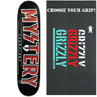 MYSTERY Skateboard Deck CHAMPIONS RED 8.25 with GRIZZLY GRIPTAPE image