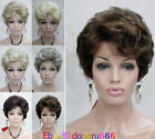 Fashion Wig Short Curly Fluffy Ladies natural Hair wigs for women