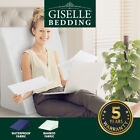 Giselle Bedding 1x 2x Wedge Pillow Memory Foam Pillows Bed Cushion Back Support