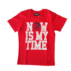 Diesel Bambino 00T0C6 00YI9 Red T-Shirt Primavera/Estate
