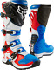 NEW FOX RACING MENS ADULT RED WHITE BLUE COMP 5 MOTOCROSS MX ATV BOOTS RIDING