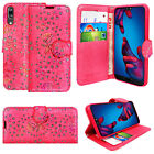 New Leather Stand Flip Wallet Cover Mobile Phone Case For Huawei  P8/P9/P10/Lite New