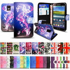 Luxury PU Leather Card Holder Wallet Flip Case for Samsung Galaxy S5 / S5 Neo